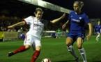 Le choc a été remporté par les Anglaises (photo FCB)