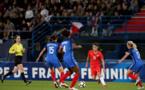 Georges était avec le brassard lors du premier match sous la direction de Diacre (photo A. Mesa/FFF)