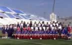 Les Bleues en 2000 au Vélodrome (archive DR)