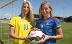 Jakobsson et Sembrant (photo MHSC)