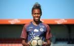 Lindsey Thomas prêtée par Montpellier jouera la deuxième partie de saison à Bordeaux (photo MHSC)