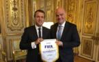 Coupes du Monde - Le Président de la FIFA a rencontré Emmanuel MACRON
