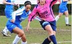 Duel lors de Sinaai Girls - Evas Tienen (photo : Joke Vuylsteke)