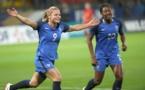 Le Sommer avec Diani appelées pour ce match de préparation (photo FFF)