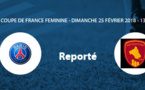 Coupe de France (8es de finale) - PSG - RODEZ reporté