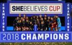 #SheBelievesCup - Les USA coiffent l'Angleterre au poteau et remportent la SBC
