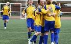 Des jeunes footballeuses à Armentières