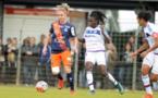 Tonazzi avec Montpellier face à Lyon (photo MHSC)