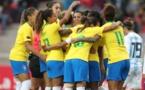 Les Brésiliennes seront présentes en France en juin 2019 (photo : Lucas Figueiredo/CBF)