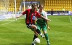 Tonazzi retrouve l'Europe, et totalise déjà 6 buts à ce niveau (ici en 2006)