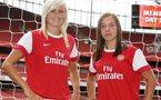 Nobbs et Houghton rejoignent Arsenal (photo club)