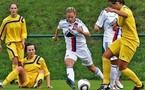 Eugénie Le Sommer s'est rappelée aux bons souvenirs de son ancien club (crédit photo Van Gol)