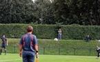 Le penalty transformé par Le Sommer (photo : Jean-François)