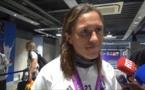 Bleues - Camille ABILY aux côtés de Denis BALBIR pour commenter l'Equipe de France