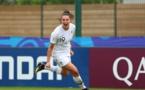 Un triplé de Delabre a permis à la France de faire la différence avant la pause (photo FIFA.com)