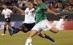 Le Mexique passe l'obstacle américain (photo : USsoccer.com)