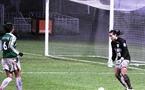 Pauline Crammer a fini le match contre Lyon dans les buts (photo : Jean-François)