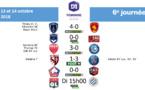 #D1F - J6 : LYON bat MONTPELLIER, Le PARIS FC renoue avec la victoire, le PSG s'est fait peur, DIJON passe en seconde