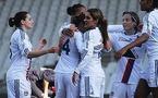 Les Lyonnaises ont fait la différence en seconde période (photo :  Van Gol)