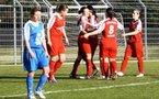 Vendenheim fête sa victoire dans le derby (photo : Agathe Lacombe)
