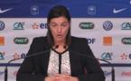 """Bleues - La conférence de Corinne DIACRE : """"Je veux encore piquer d'autres joueuses"""""""