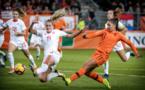 #FIFAWWC - Barrage : Les PAYS-BAS prennent un net avantage face à la Suisse