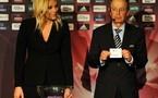Mikael Salzer a effectué le tirage au sort (photo : FIGC)