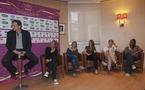 Bruno Bini, Sandrine Soubeyrand, Sonia Bompastor, Gaëtane Thiney  Corine Franco et Laura Georges étaient tous présents à l'annonce de la liste des 21 (Photos : Eric Baledent/Le Moustic Production)