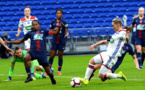 La Galloise Fishlock inscrit l'unique but du match (photo twitter OL)
