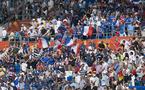 Les supporters des Bleues étaient en nombre pour supporter les Bleues