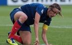 Soubeyrand et les Bleues avaient un genou à terre à la pause (photo : Eric Baledent)