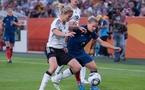 Le match France - Allemagne en images
