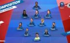 Bleues - La compo face à l'ALLEMAGNE : KATOTO première titularisation
