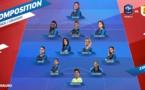 Bleues - Cinq changements tricolores pour FRANCE - URUGUAY