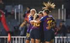 Trois buts en première période pour le Barça