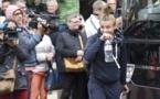 Marion Torrent et les Bleues sont arrivées en car à Ploumanac'h (photo AFP)
