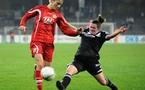 Schmidt a inscrit le 2e des 10 buts de Potsdam face à Glasgow (photo DFB)