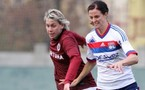 Lotta Schelin a confirmé son rendement offensif en Ligue des Champions