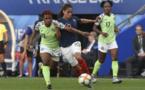 Chikwelu, à gauche, est suspendue pour ce huitième de finale (photo Frédérique Grando/FOF)