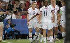 Megan Rapinoe a marqué ses deux premiers buts face à la France (photo Eric Baledent/FOF)