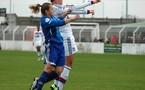 Anaïs Dumont à gauche espère reste en D1 avec son club (photo club)