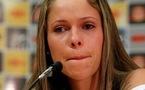 Erika avait les larmes aux yeux (photo S Barzaghi/Press Gazette)