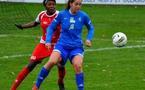 Fiona O'Sullivan a déjà marqué mais Soyaux n'a pas gagné (photo ASJ)