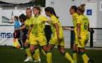 Nantes partage la première place avec Issy (photo FC Nantes O'Féminin)