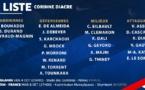 Bleues - Les 23 joueuses retenues : HENRY blessée, KATOTO appelée
