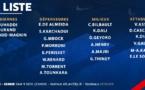 Bleues - Les 23 joueuses retenues : 2 changements par rapport au dernier rassemblement