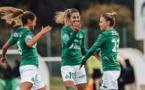 Laury Jesus, à droite, a inscrit deux buts contre Grenoble (photo ASSE)