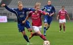 Eugénie Le Sommer a été remplacée par Lara Dickenmann à la mi-temps (Photos : Alexandre Ortega)
