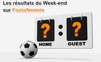 Résultats du week-end - D1, Interregions, U19 et D2