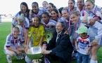 Paul Piémontèse avec les Lyonnaises (photos LMP/Willam Morice)